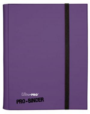 Portfolios Pro-binder - Violet -  360 Cases (20 Pages De 18)