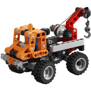 Ultrajeux technic 9390 la mini d panneuse lego - Jeux de construction lego technic ...
