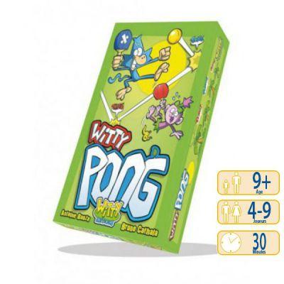 Jeu de carte Witty Pong