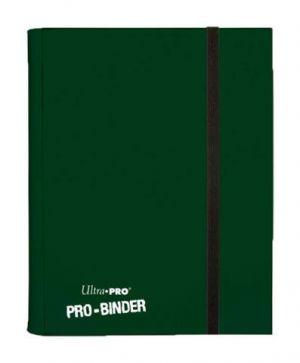 Portfolios Pro-binder - Vert Foncé -  360 Cases (20 Pages De 18)