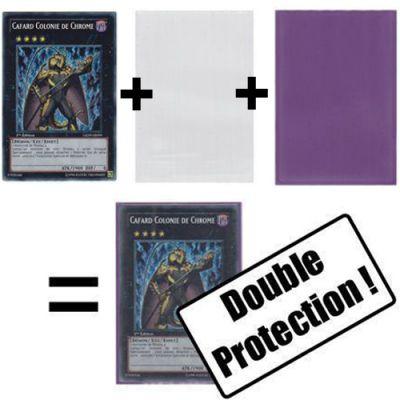 Protèges Cartes Format JAP Sous Protection Pro-fit Ultra-pro - Taille Small (transparentes Souples par 100)