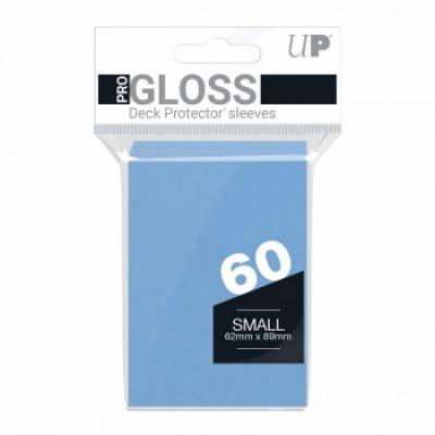 Protèges Cartes Format JAP Sleeves Ultra-pro Mini Par 60 Bleu Mc