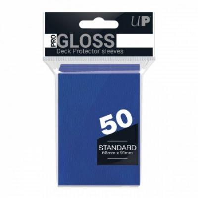 Protèges Cartes Sleeves Ultra-pro Standard Par 50 Bleu Foncé