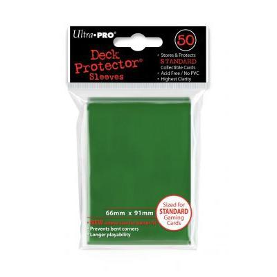 Protèges Cartes Sleeves Ultra-pro Standard Par 50 Vert Foncé