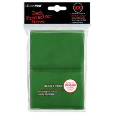 Protèges Cartes Sleeves Ultra-pro Standard Par 100 Vert Foncé
