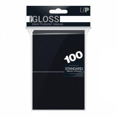 Protèges Cartes Sleeves Ultra-pro Standard Par 100 Noir
