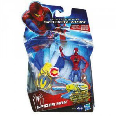 ultrajeux figurine 10 cm spider man tir de missiles. Black Bedroom Furniture Sets. Home Design Ideas