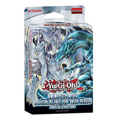 Decks de Structure La Saga Du Dragon Blanc Aux Yeux Bleus