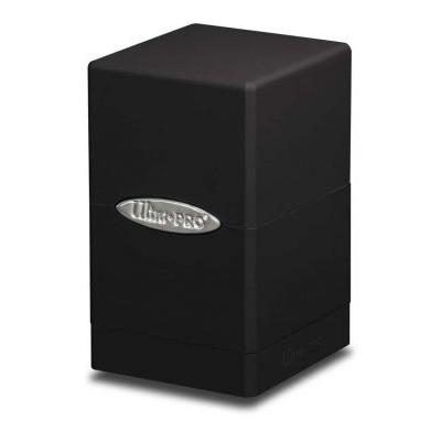 Boites de Rangement Satin Tower Deck Box Noir