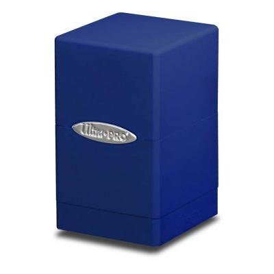 Boites de Rangement Satin Tower Deck Box Bleu Foncé