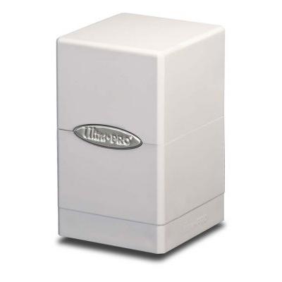 Boites de Rangement Satin Tower Deck Box Blanc