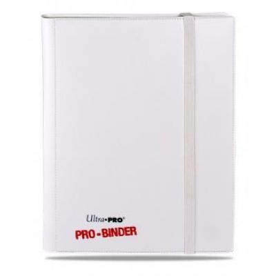 Portfolios Pro-binder - Blanc Sur Blanc -  360 Cases (20 Pages De 18)