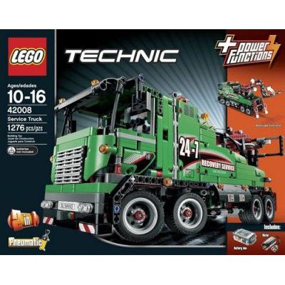 ultrajeux technic 42008 le camion de service lego. Black Bedroom Furniture Sets. Home Design Ideas