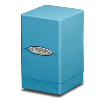 Boites de Rangement Satin Tower Deck Box Bleu Mc