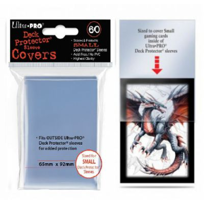 Protèges Cartes Format JAP Sleeves Ultra-pro Sleeve Covers Mini Par 60