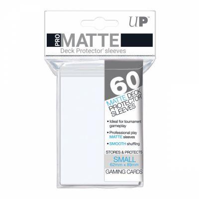 Protèges Cartes Format JAP Sleeves Ultra-pro Mini Par 60 Transparent Matte
