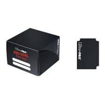 Boites de Rangement Pro-dual Deck Box - Noir (180 cartes)