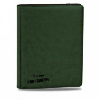 Portfolios Premium Pro-binder - Simili Cuir Vert Foncé -  360 Cases (20 Pages De 18)