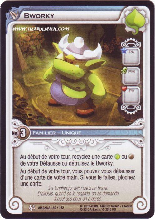 Ultrajeux Bworky 159 162 Carte Wakfu Dofus Cartes A L Unite Francais