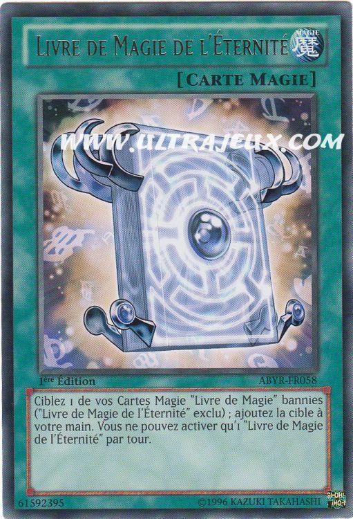 Ultrajeux livre de magie de l 39 eternit abyr fr058 for A la porte de l eternite