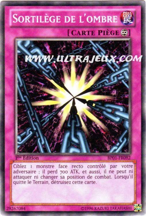 Ultrajeux Sortil 232 Ge De L Ombre Bp01 Fr092 Carte Yu Gi Oh Cartes 224 L Unit 233 Fran 231 Ais