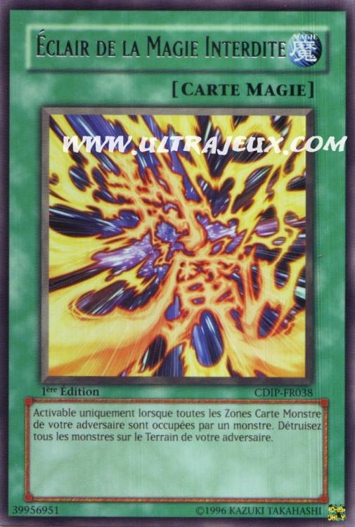Ultrajeux Eclair De La Magie Interdite Cdip Fr038