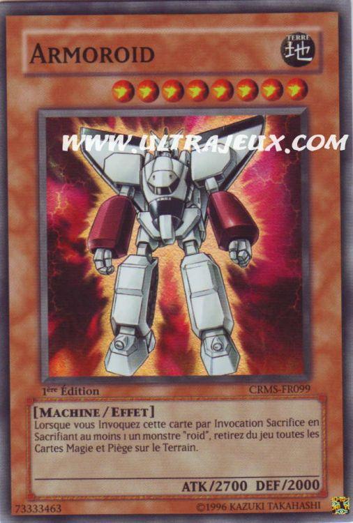 Ultrajeux armoroid crms fr carte yu gi oh cartes