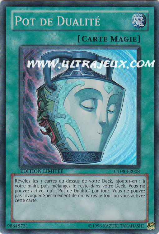 Pot De Dualité CT08-FR008 Yu-Gi-Oh