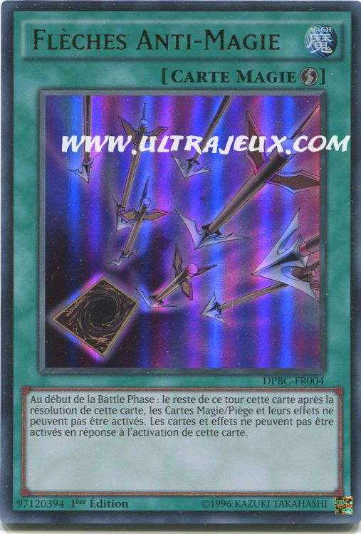 Ultrajeux Fl 232 Ches Anti Magie Dpbc Fr004 Carte Yu Gi Oh Cartes 224 L Unit 233 Fran 231 Ais
