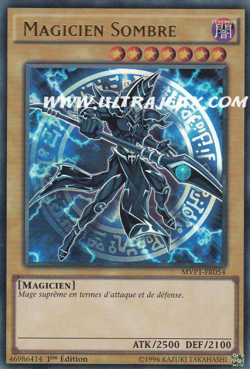 Ultrajeux Magicien Sombre Mvp1 Fr054 Carte Yu Gi Oh