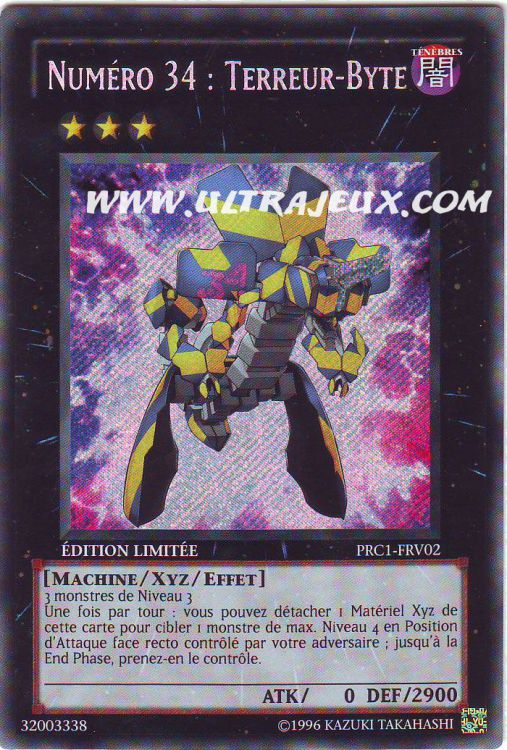 Carte Yu-Gi-Oh  Cartes   224  l Unit  233  Fran  231 ais - Collection Premium 2012Yugioh Number 4 Stealth Kragen