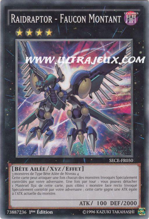 Ultrajeux Raidraptor Faucon Montant Sece Fr050 Carte Yu Gi Oh Cartes 224 L Unit 233 Fran 231 Ais