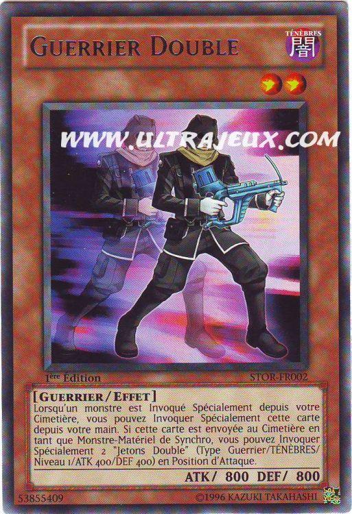 Doppelwarrior : LED6-FR031 -VF//Commune Yu-gi-oh Guerrier Double