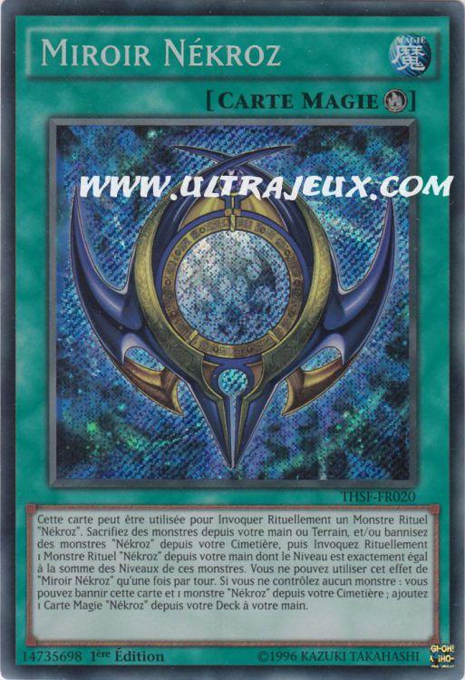Ultrajeux miroir n kroz thsf fr020 carte yu gi oh for Miroir vanguard